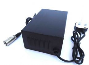 OUT OF STOCK ** 24 Volt 8 Amp 3 Stage High Power Professional Mobility Battery Charger